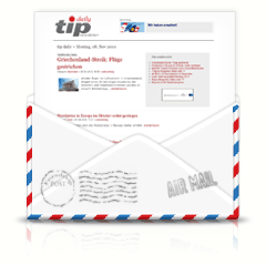 tip-daily Touristik-Newsletter