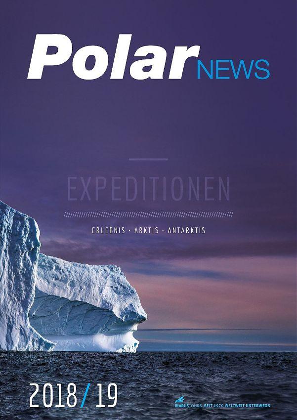 Ikarus Neuer Polarreisen Katalog 2018 19 News Tip
