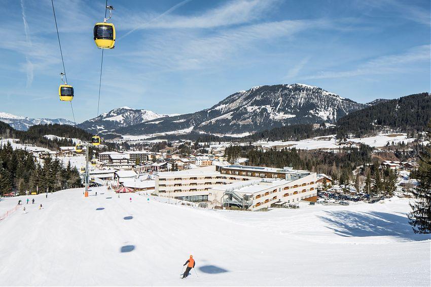 Skigebiet Fieberbrunn - Bewertung Skicircus Saalbach