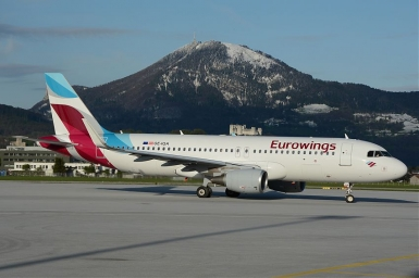 eurowings ab salzburg nach gro britannien news tip. Black Bedroom Furniture Sets. Home Design Ideas