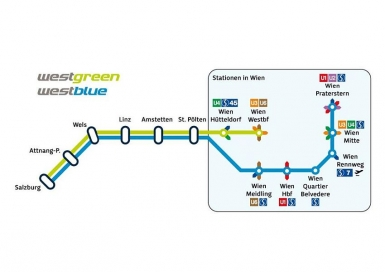 Westbahn Sechs Neue Abfahrtsorte In Wien News Tip