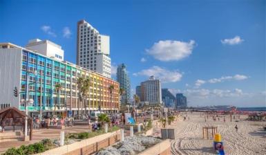 Tel Aviv: Nur wenige Metropolen verfügen über einen eigenen Stadtstrand - Foto: Dana Friedlander/IMOT