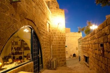 Tel Aviv: Die Altstadt von Jaffa ist abends fast noch schöner als tagsüber -Foto: Dana Friedlander/IMOT