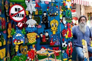 Tel Aviv: Nicht verpassen: Der Kunst- und Handwerksmarkt in der Nahalat Binyamin Straße ist dienstags und freitags geöffnet - Foto: Dana Friedlander/IMOT