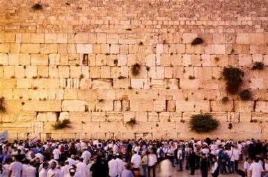 Jerusalem: Die Klagemauer gilt gläubigen Juden als heiligster Ort _ Foto: Noam Chen/IMOT