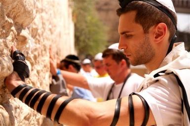 Jerusalem: Gebet an der Klagemauer - Foto: Noam Chen/IMOT