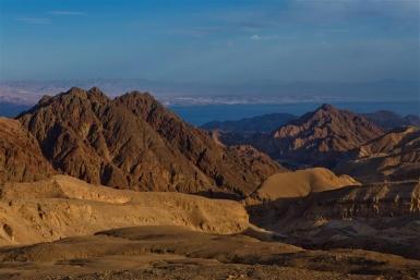 Gut geeignet für kurze Ausflüge: die Berge von Eilat - Foto: Dafna Tal / IMOT
