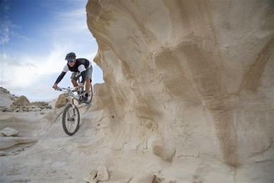 Für Wagemutige und Durchtrainierte: Mountainbiken im Negev - Foto: Ron Alon / IMOT