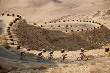 Der Negev bietet in den Wintermonaten beste Bedingungen zum Radfahren - Foto: Shai Gitterman / IMOT