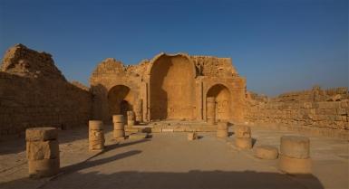 Ruinen der alten Nabatäer-Stadt Shivta an der Weihrauchstraße - Foto: Dafna Tal / IMOT