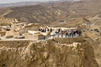 Blick auf den Negev von Masada - Foto: Itamar Grinberg / IMOT
