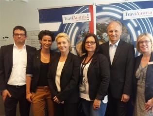 Das TraviAustria Forum: Ein halber Tag prallvoll mit Informationen rund um Travi,Paxconnect und airberlin. - Foto: Elo Resch-Piclik